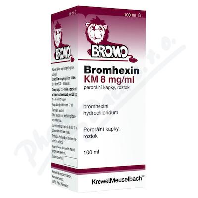 Bromhexin 8 KM kapky gtt.1x100ml 8mg/ml