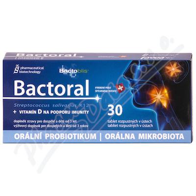 Favea Bactoral+Vitamín D tbl.30