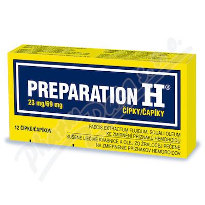 Preparation H 23mg/69mg sup.12 I