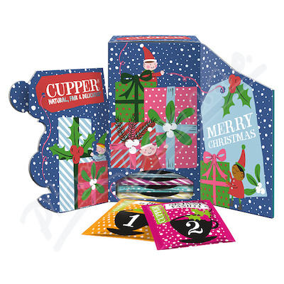 Cupper BIO Adventní čajový kalendář 24 n.s.