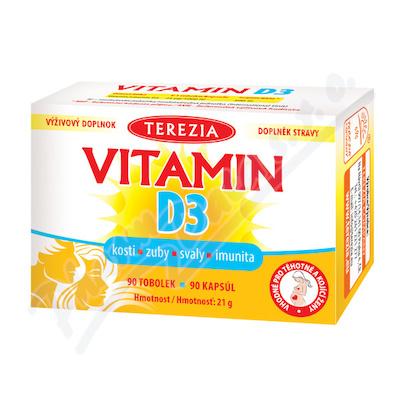 TEREZIA Vitamín D3 1000 IU tob.90