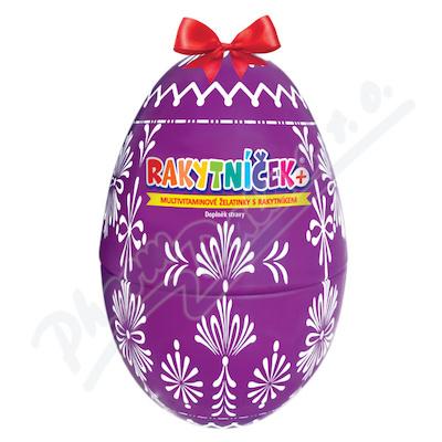 RAKYTNÍČEK+ želatinky 50ks fialové vejce 2021