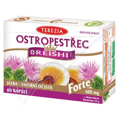 TEREZIA Ostropestřec+Reishi Forte cps.60