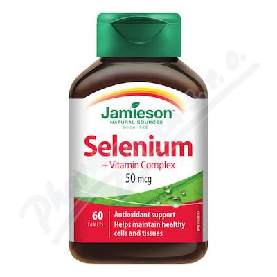 JAMIESON Selen+betakaroten 50mcg vit.C+E tbl.60
