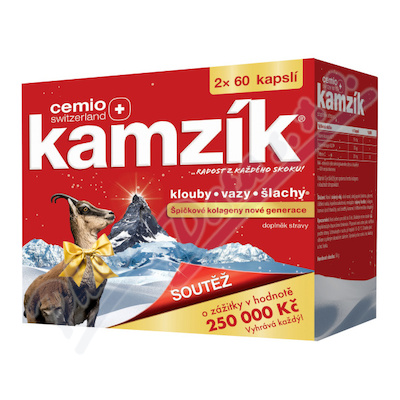 Cemio Kamzík cps.120 dárek 2021 CZ