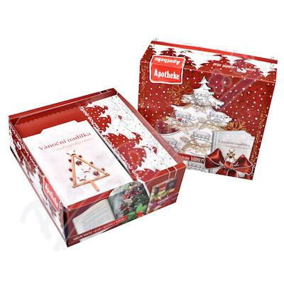 Apotheke kolekce Vánoční čajování s dárkem 90x2g