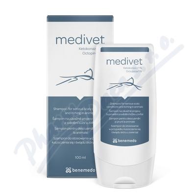 Medivet veterinární šampon - lupy a svědění 100 ml