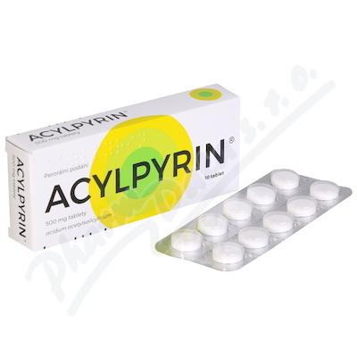 Acylpyrin 500mg tbl.nob. 10x500mg