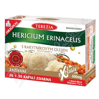 TEREZIA Hericium erinaceus s rakyt.olejem cps.60