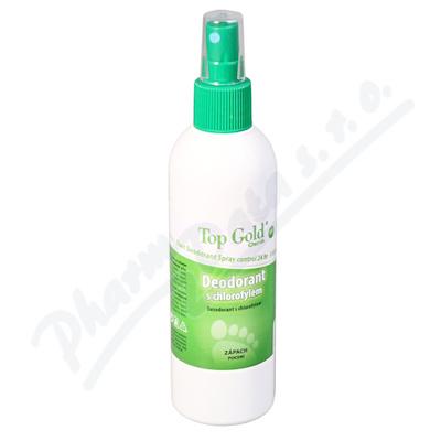 TOP GOLD Deo.s chlorofylem+Tea Tree Oil 150g
