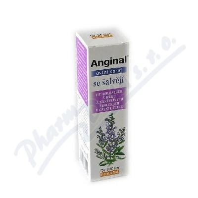 Anginal ústní sprej se šalvějí 30ml Dr.Müller