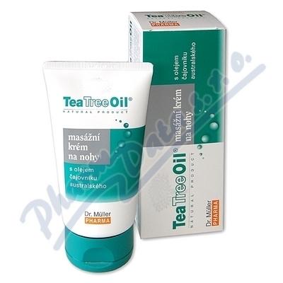 Tea Tree Oil masážní krém na nohy 150ml Dr.Müller