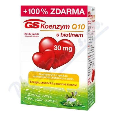 GS Koenzym Q10 30mg cps.30+30