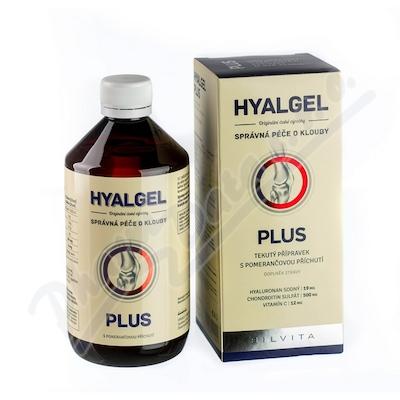 Hyalgel plus pomeranč 500ml