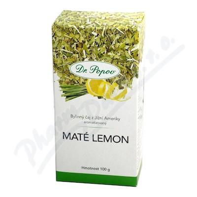Dr.Popov Čaj Maté zelené Lemon 100g