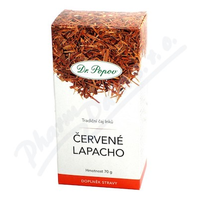 Dr.Popov Čaj Červené Lapacho 70g