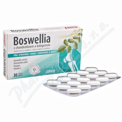 Favea Boswellia s chondroitinem a kolagenem tbl.30