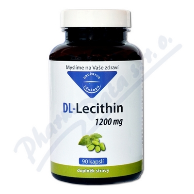 DL-Lecithin 1200mg cps.90