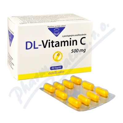 DL-Vitamin C 500mg cps.60